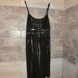 DEB WOMENS BLACK&SILVER COCKTAIL DRESS SZ 1X